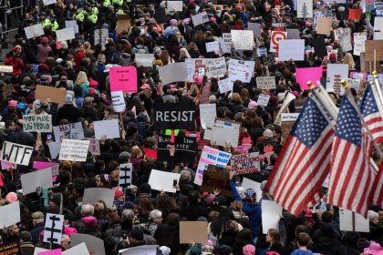 In third year, U.S. women's marches turn to 2020 elections