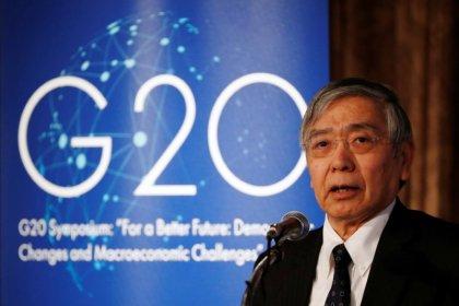 BOJ Kuroda quoted: see Sino-U.S. friction resolved this year