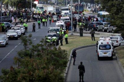 Al menos diez muertos por una explosión en un cuartel policial en Colombia