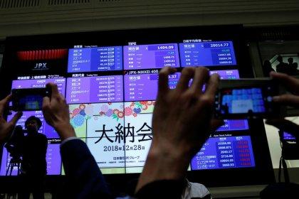 المؤشر نيكي يرتفع لأعلى مستوى في شهر بفعل التفاؤل بشأن التجارة الصينية الأمريكية