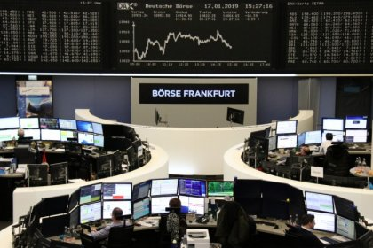 U.S-China trade talk optimism lifts European shares