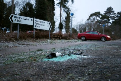 El Príncipe Felipe de Inglaterra se recupera tras un accidente de tráfico