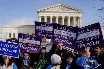 Trump tells anti-abortion marchers he will support them