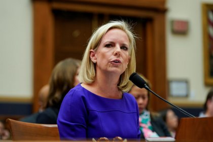 U.S. Senator Merkley seeks FBI probe of DHS chief for possible perjury