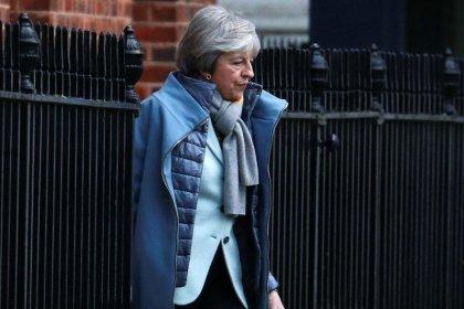 UK's May wants Irish treaty to break Brexit impasse: paper