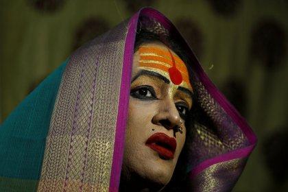 From pariah to demi-god: transgender leader a star at massive Indian festival