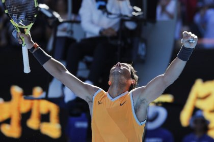 Nadal blows away Berdych to reach quarter-finals