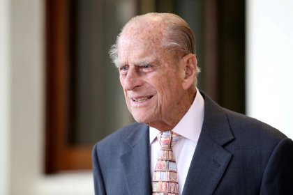 Britain's Prince Philip warned by police over seat belt, two days after crash