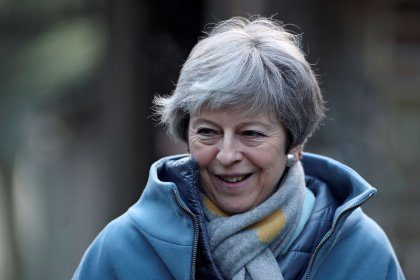 British PM May to speak to ministers on Brexit on Sunday