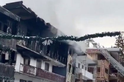 Two dead in fire at French ski resort of Courchevel