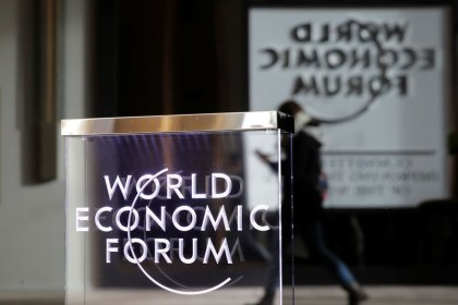 Trade worries sour CEOs' mood as leaders converge on Davos