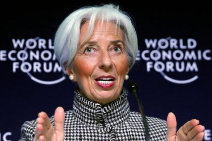 IMF, CEOs sound warnings as leaders gather in Davos