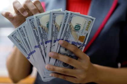Dollar steady, global growth concerns support safe-havens
