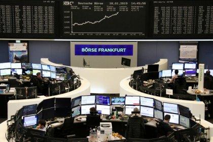 European shares dip as Ingenico and Metrobank add to macro gloom