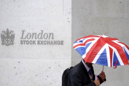UK shares fall again as weak results add to global growth worries