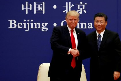 Trump says U.S. doing well in trade negotiations with China