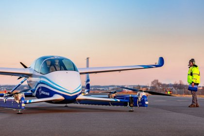 Boeing's flying car lifts off in race to revolutionize urban travel