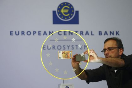 Gloomy data shoves euro lower ahead of ECB meeting