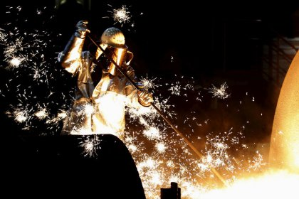 Euro zone industrial production falls more than expected in December