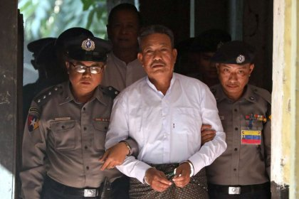 Myanmar sentences two to death for murder of Muslim lawyer who advised Suu Kyi