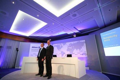 Allianz tritt nach Rekordergebnis etwas auf die Bremse