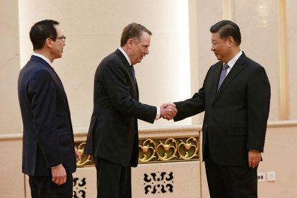 China-U.S. trade talks 'making a final sprint' - state media