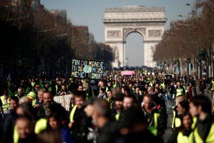 """14e samedi de mobilisation des """"Gilets jaunes"""" dans le calme"""