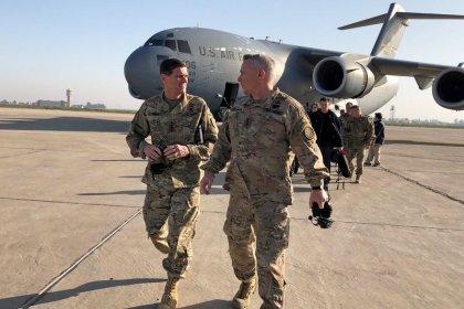 In Iraq visit, U.S. general eyes longer-term Islamic State threat