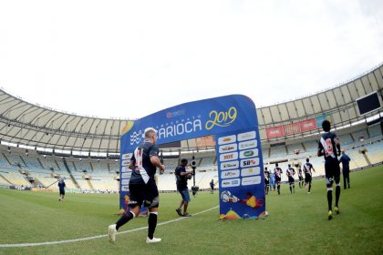 Fans only allowed into Rio final midway through first half