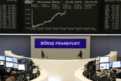 Акции Европы вблизи 4-месячных пиков на фоне прогресса в торговых переговорах США и КНР