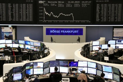 Global shares slip from four-month high, Swedish crown slumps