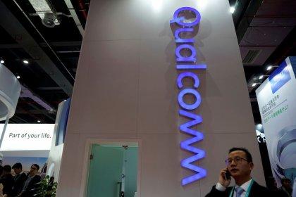 Qualcomm urges U.S. regulators to reverse course and ban some iPhones