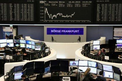 European shares flat, results from Elekta, Sika, Sopra Steria drive big swings