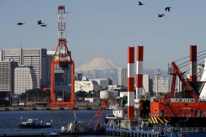 Japan exports seen falling at slower pace in February, core CPI steady: Reuters poll