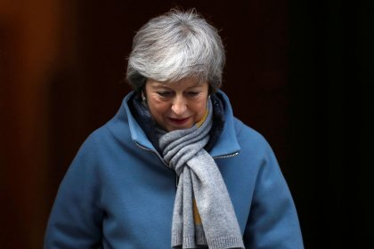 May seeks Brexit delay after third vote on her deal is derailed