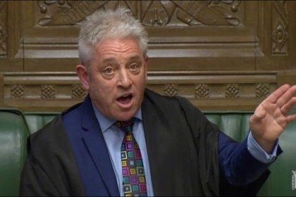 May intenta sortear la negativa del presidente del Parlamento en una nueva crisis del Brexit