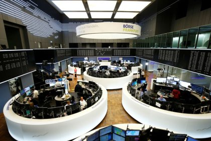 Global shares gain as Fed looms, pound rides new Brexit twists