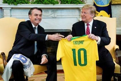 Trump promete apoio à entrada do Brasil na OCDE e defende
