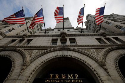 Judges lean toward Trump in hotel 'emoluments' case
