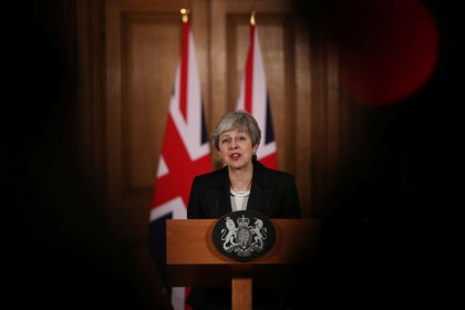 May urges parliament to back her on Brexit, tells Britons 'I'm on your side'