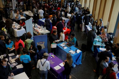 U.S. labor market solid; manufacturing sector slowing