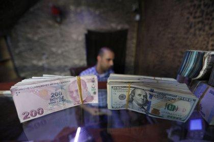 الليرة التركية تهبط 3 في المئة أمام الدولار الأمريكي