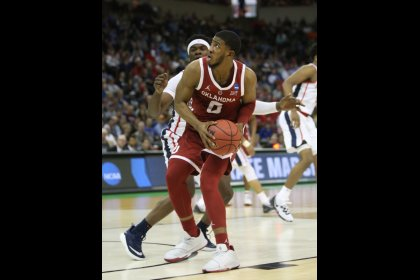 Oklahoma blitzes Ole Miss with offensive barrage