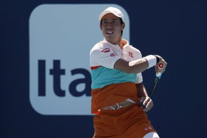 Tennis: Nishikori stunned by Lajovic in Miami second round