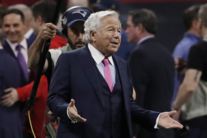 Patriots owner Kraft fights back against charges