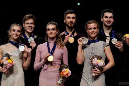 Figure skating: Papadakis, Cizeron take fourth crown, set new record