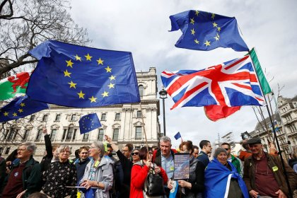 Brexit: Manifestation monstre à Londres pour un 2e référendum