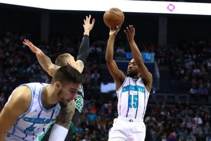 NBA roundup: Hornets storm back to stun Celtics