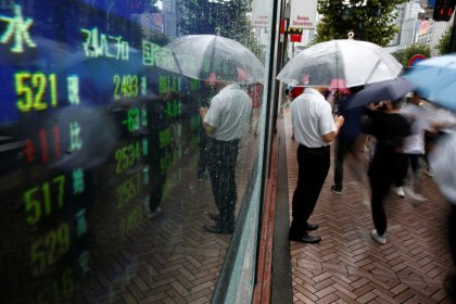 'Flashing amber' - Stocks tumble, bonds rally on U.S. recession risk