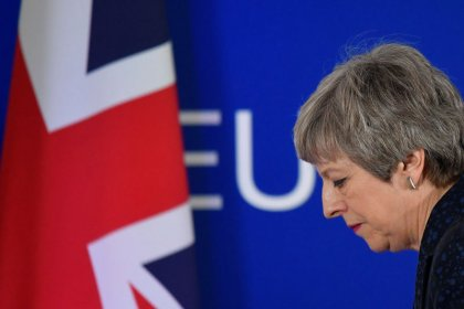 'Time's up, Theresa'? PM May urged to set her own exit date to get Brexit deal